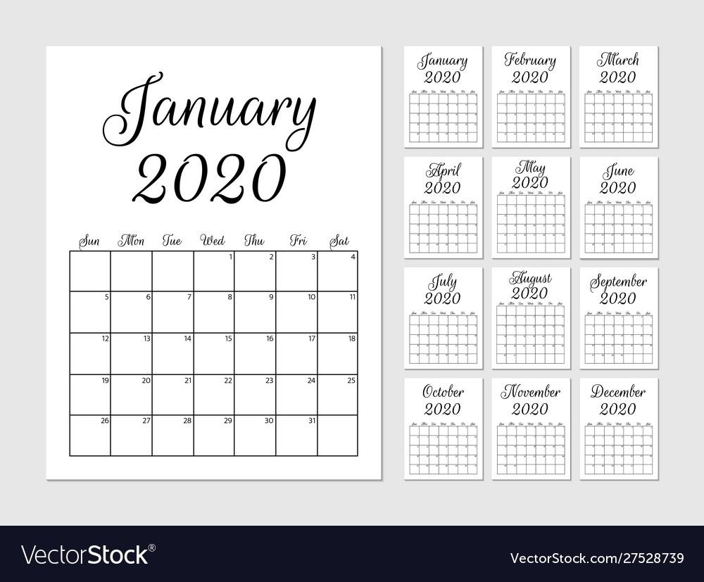 Get Template Trove Calendars 2021 August September October