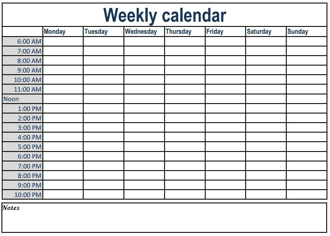 Get Time Calendar Template