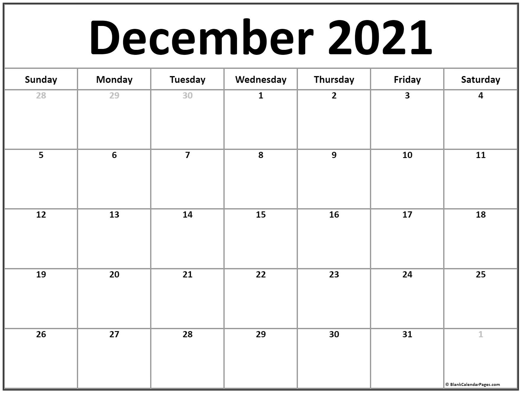Get Waterproof Calendar 2021