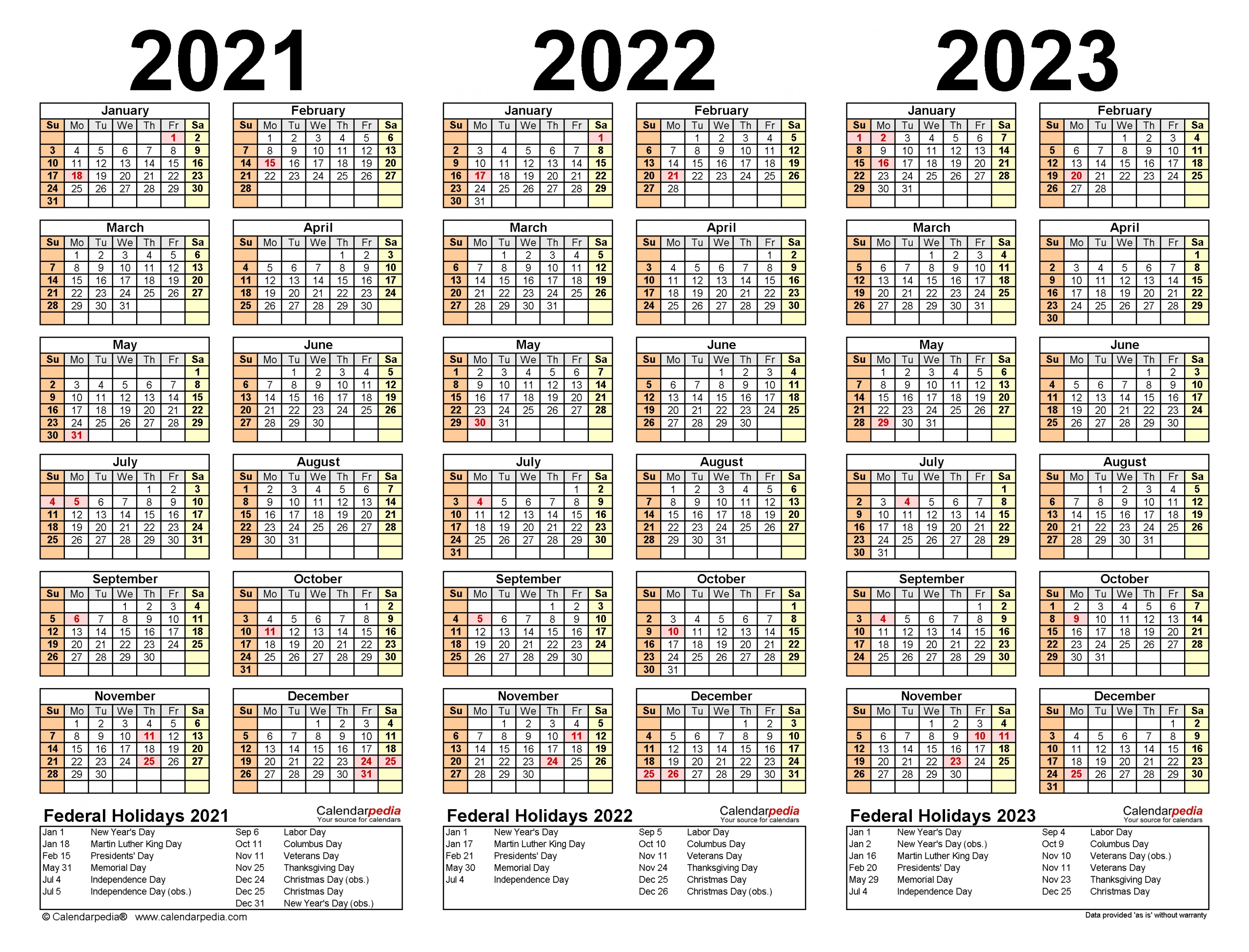 Get Year Overview 2021 Thru 2024