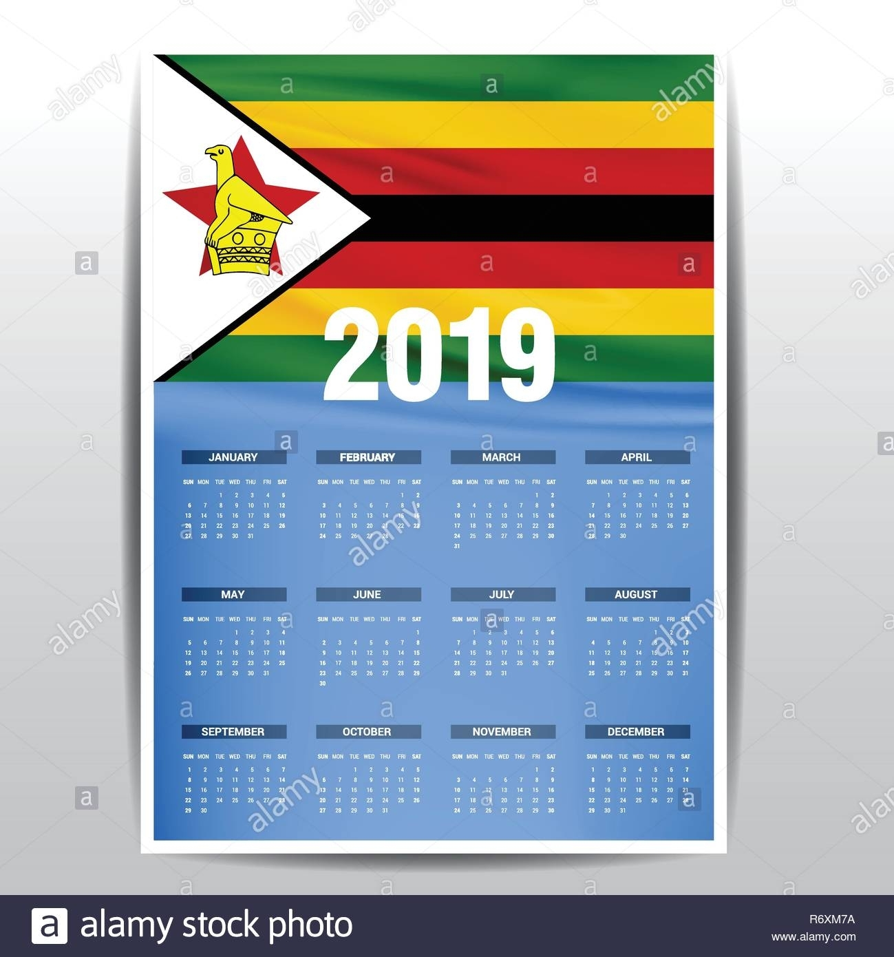 Get Zimbabwe Calendar With Holidays