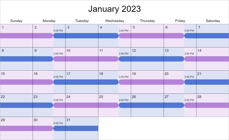 Pick 12 Month Training Plan Custodial