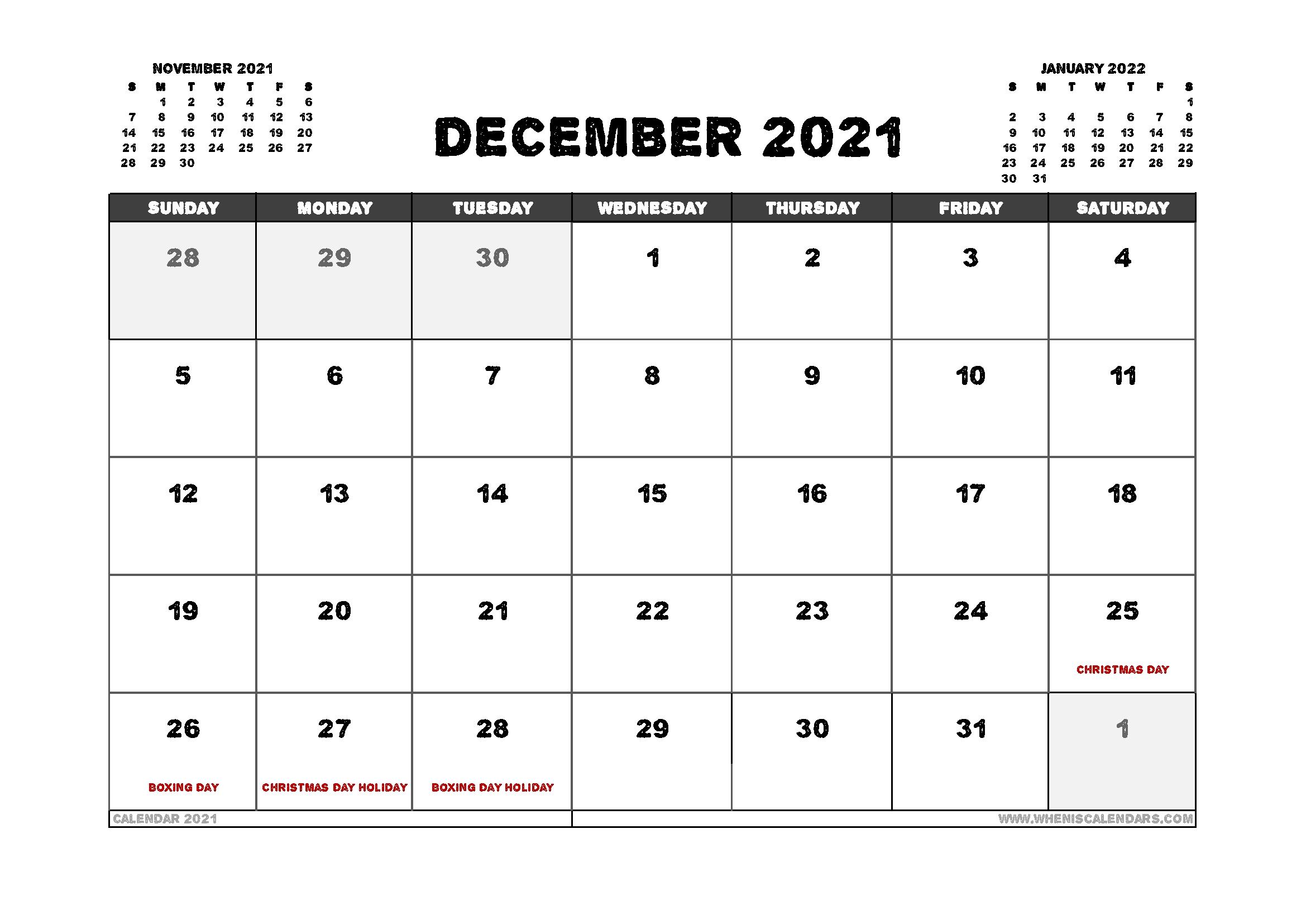 Pick 2021 Free Printable Calendar Australia