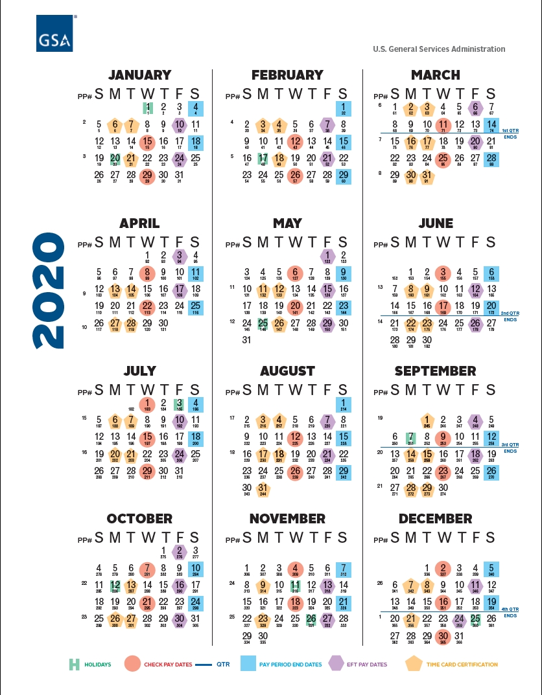Pick 2021 Pay Period Federal Calendar
