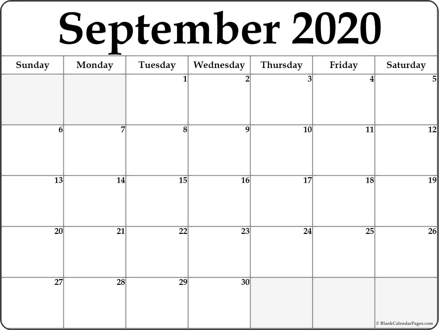 Pick 2021 Printable Calendar August September October