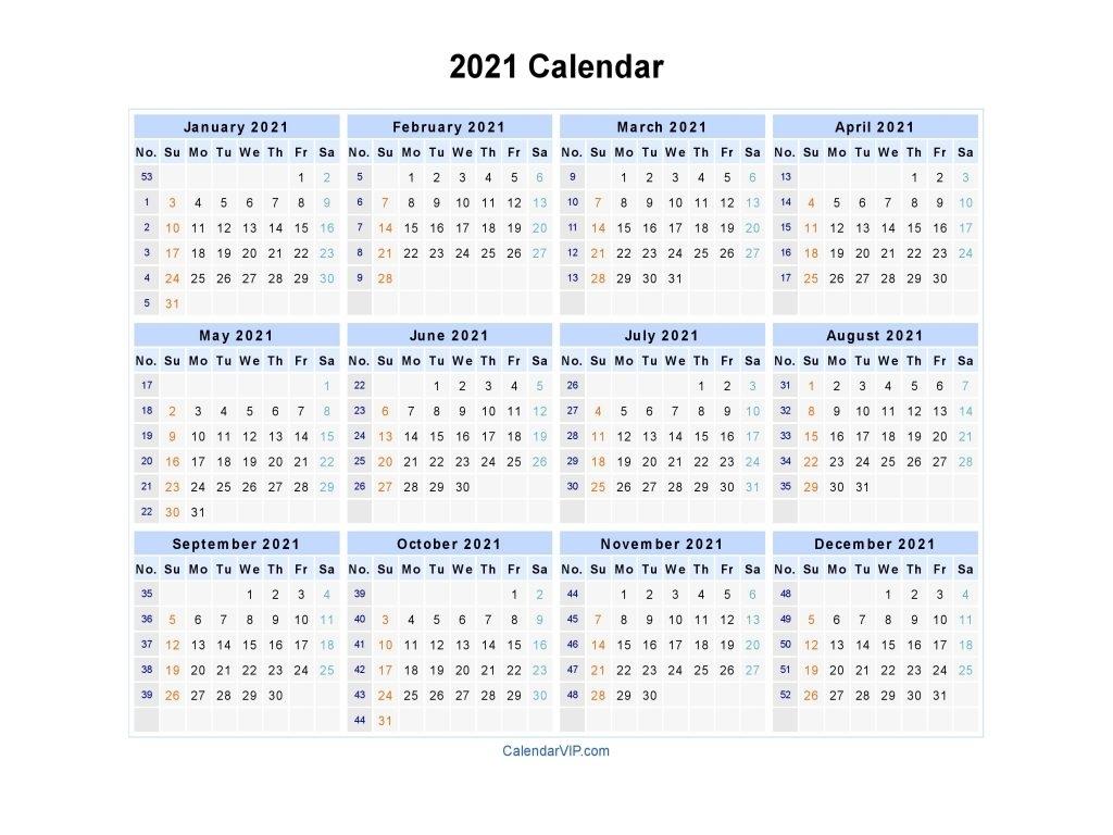 Pick 2021 Work Schedule