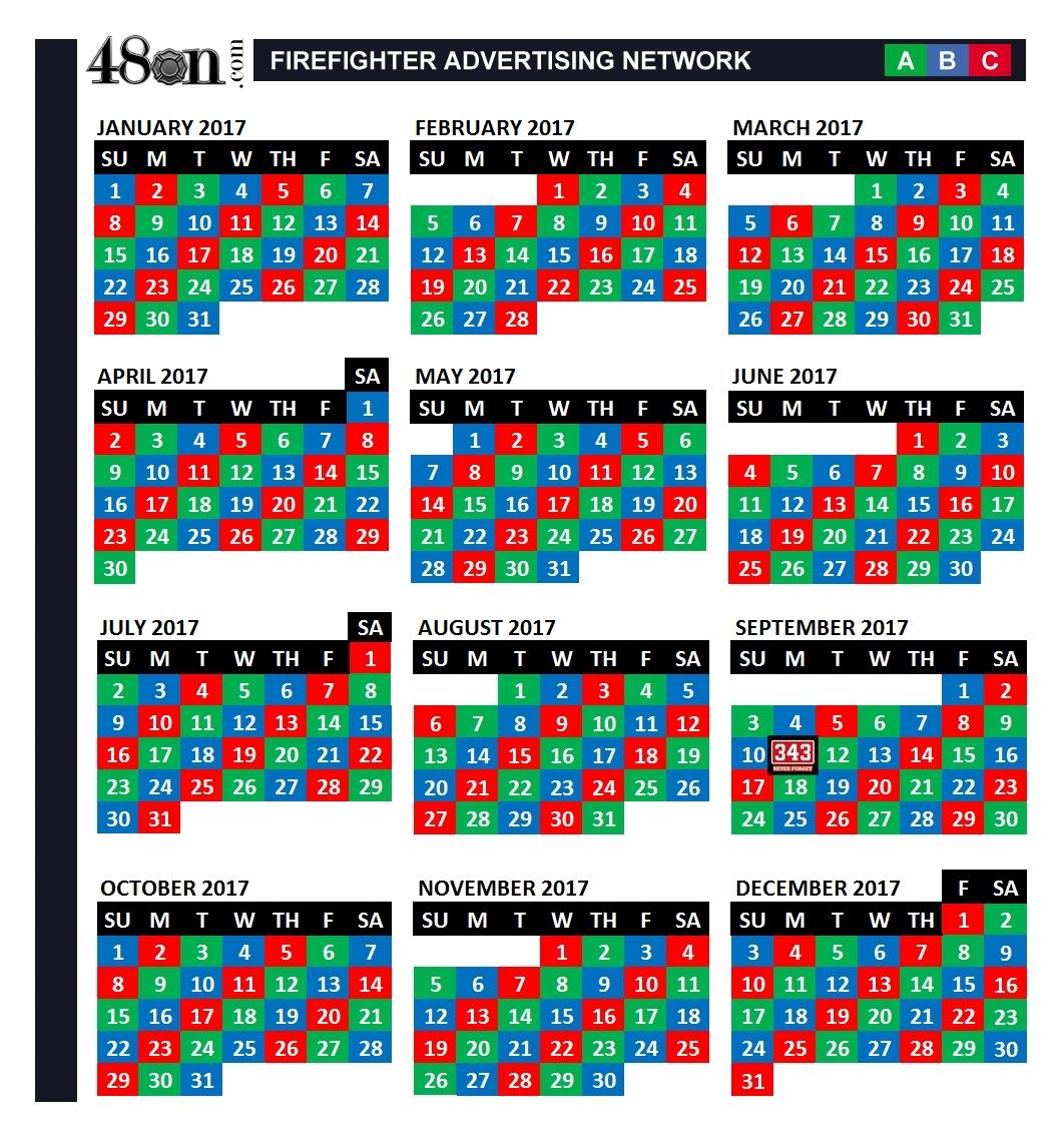 Pick A B C Shift Schedule