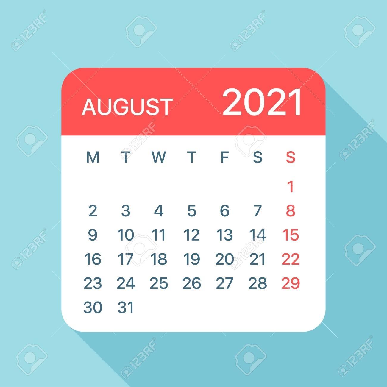 Pick August 2021 Clip Art
