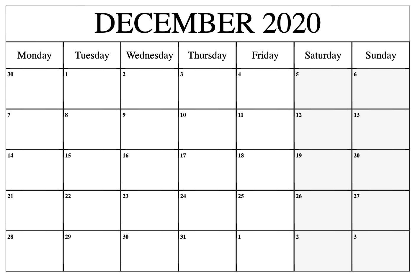 Pick August – December 2021 Calendar Printable