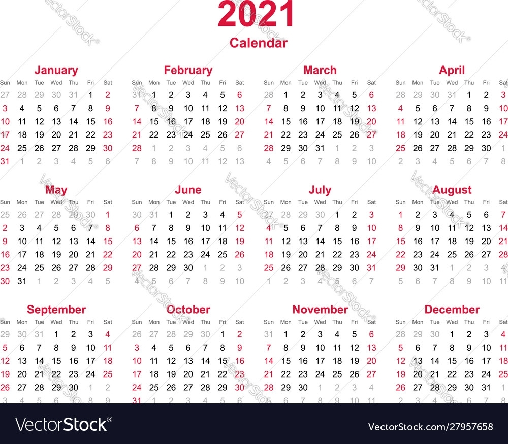 Pick Calendar For All 12 Months