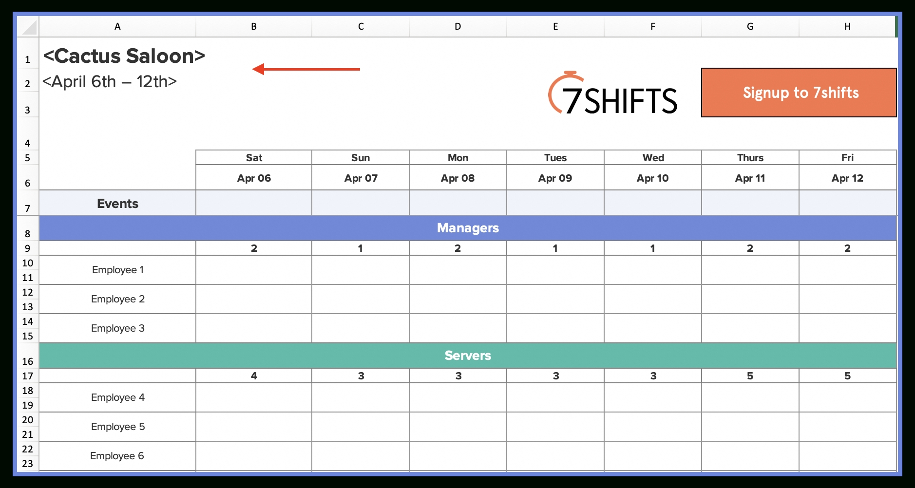 Pick Calendar Slot Kitchen .Xls