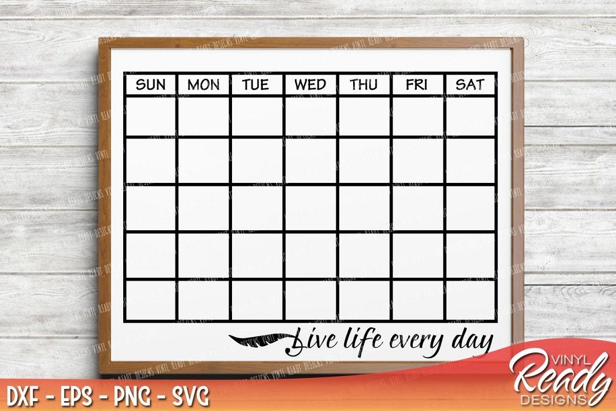 Pick Calendar Template With Clip Art