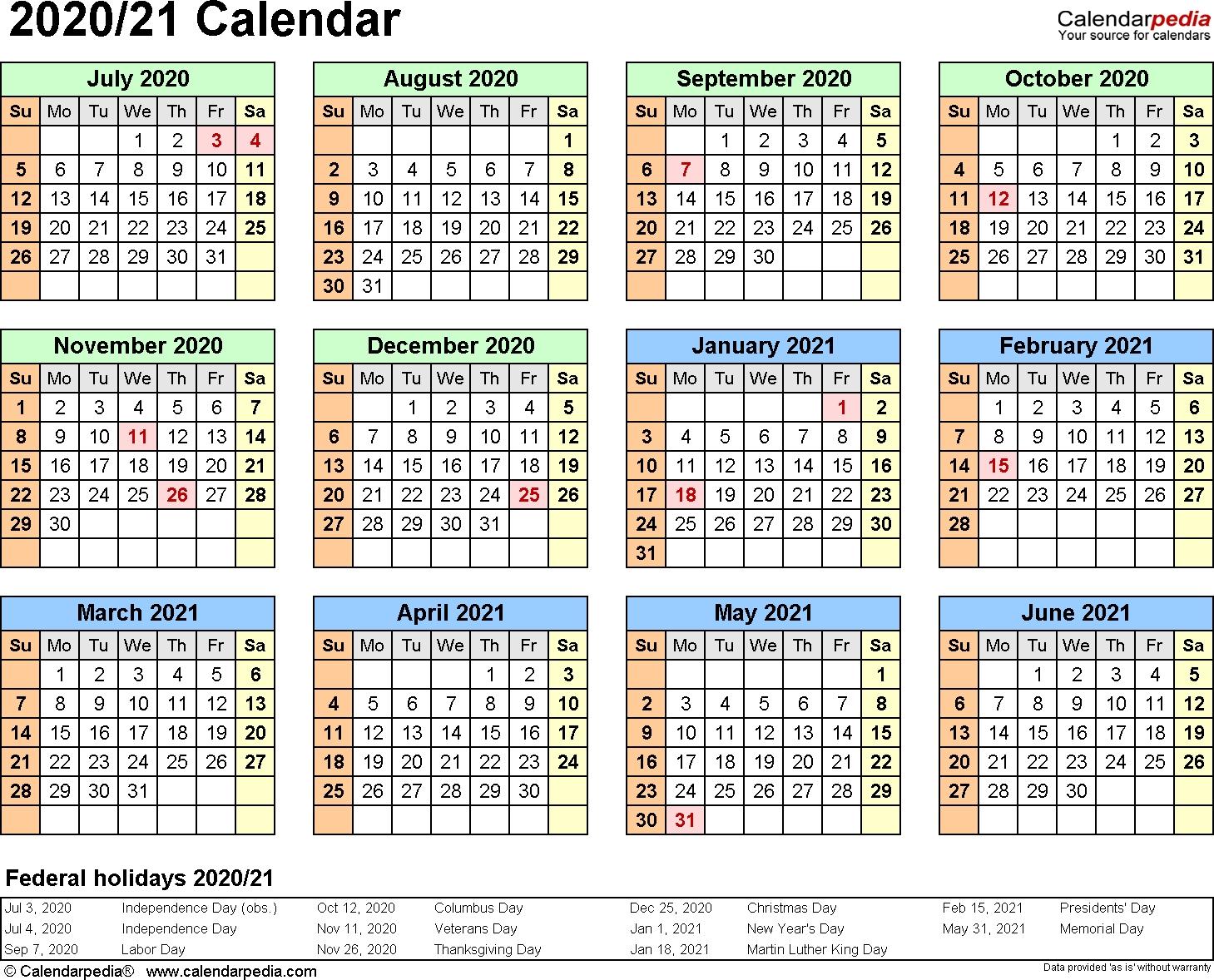 Pick Calendar Weeks 2021 Excel