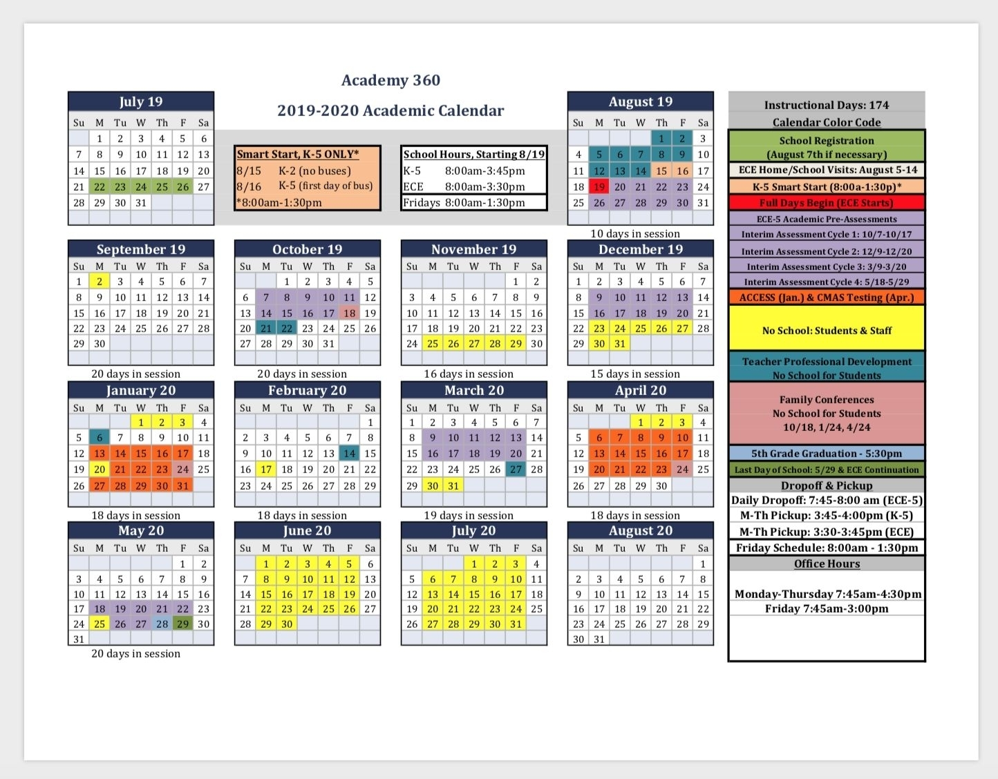 Pick Calendar With All Special Days