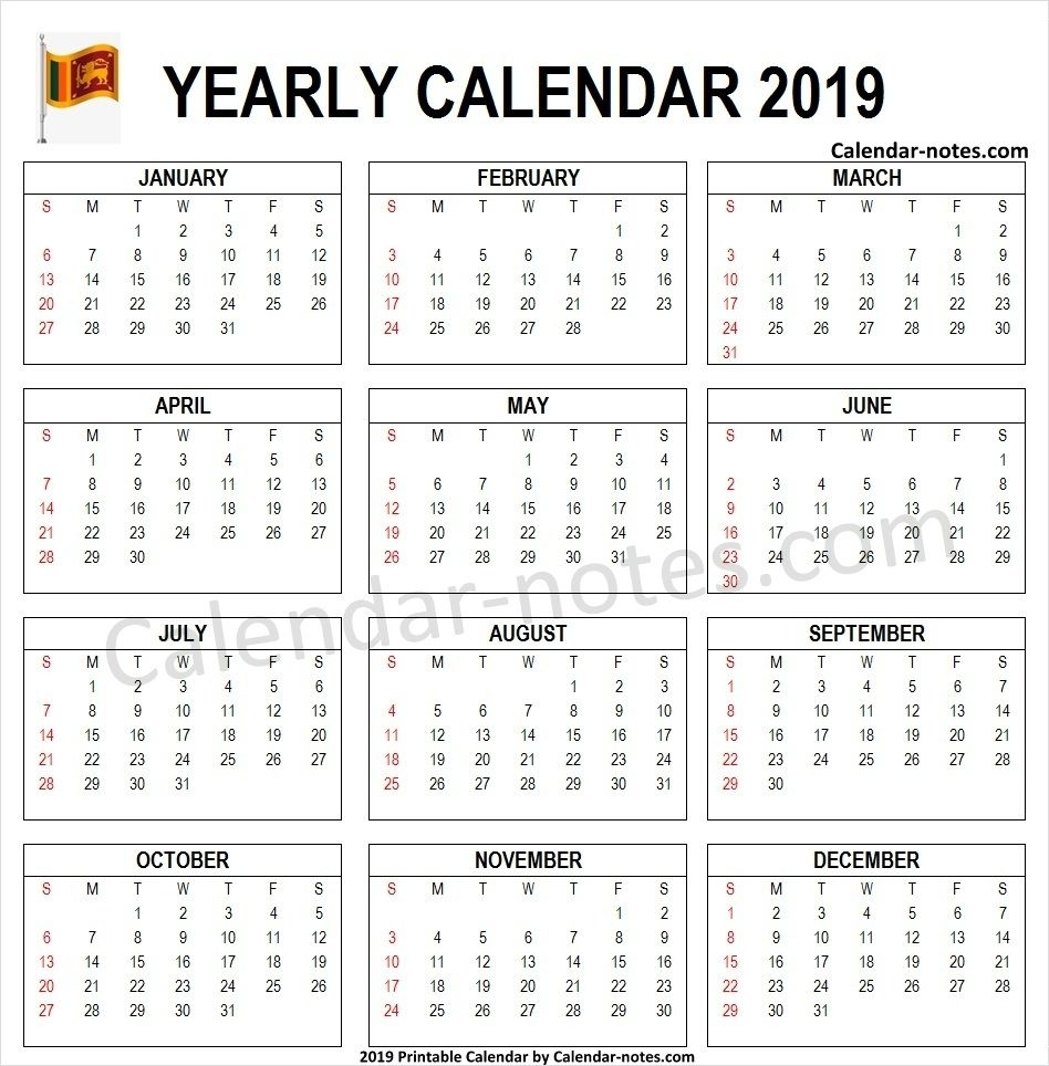 Pick Calendars Print Sri Lanka