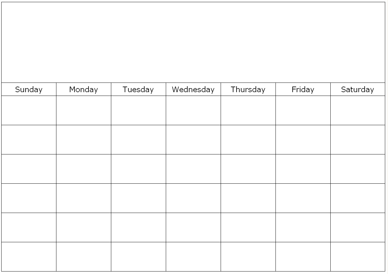 Pick Calendars To Fill In And Print