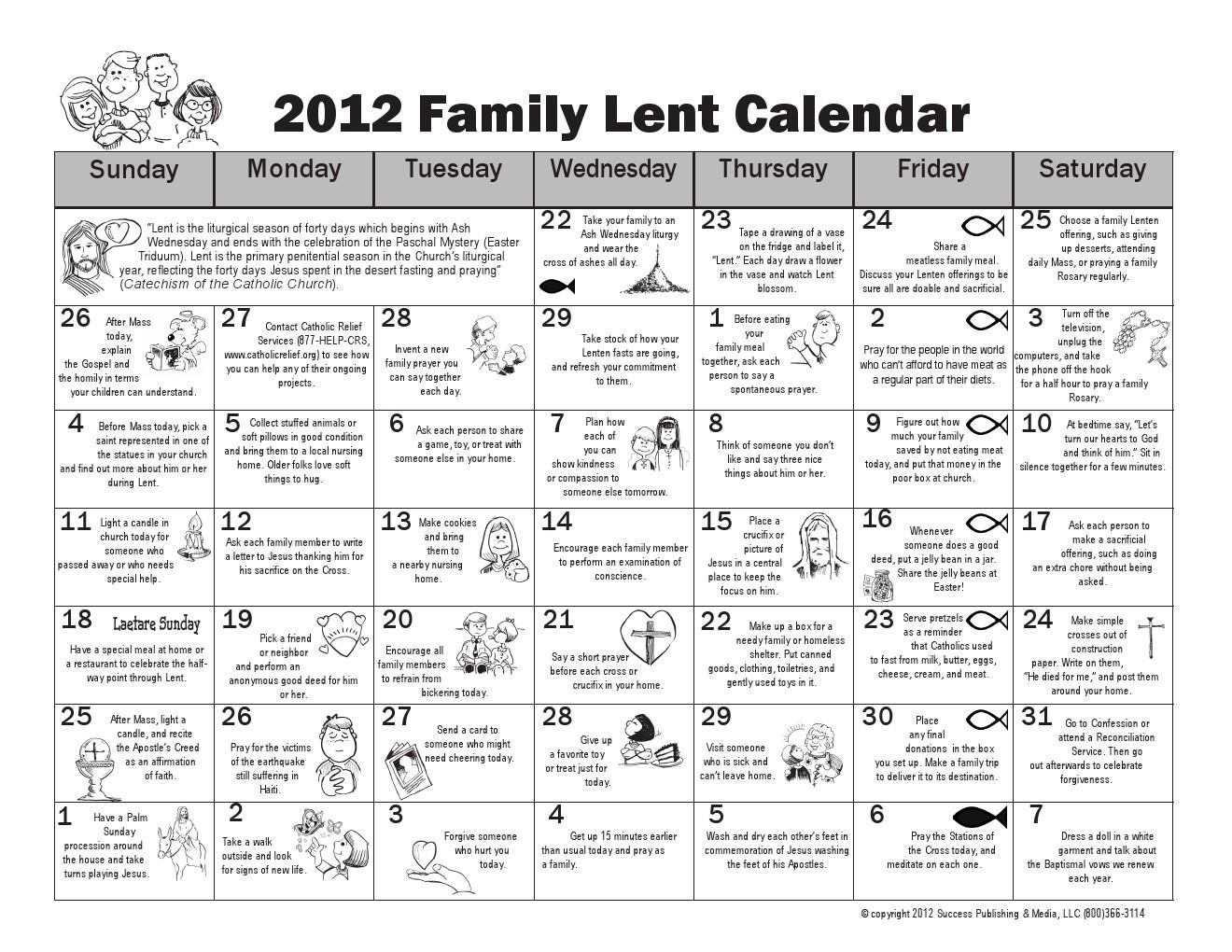 Pick Catholic Liturgical Calendar For Exam