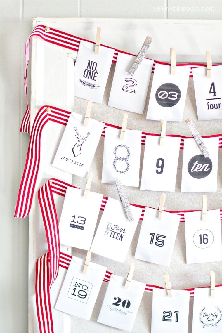 Pick Diy Advent Calendars Verses And Figures