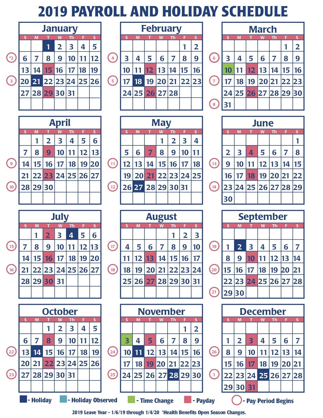 Pick Federal Pay Periods
