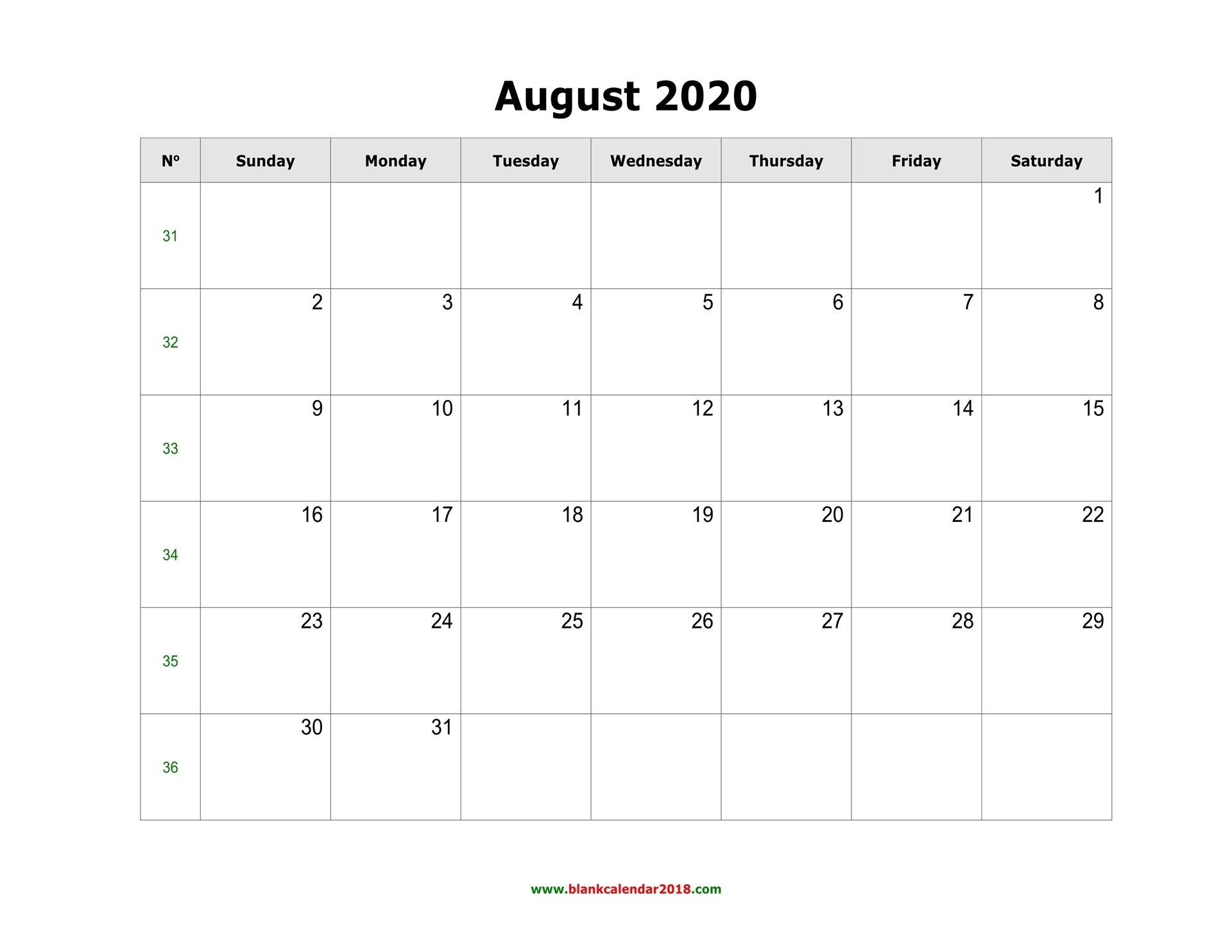 Pick Fill In August Schedule