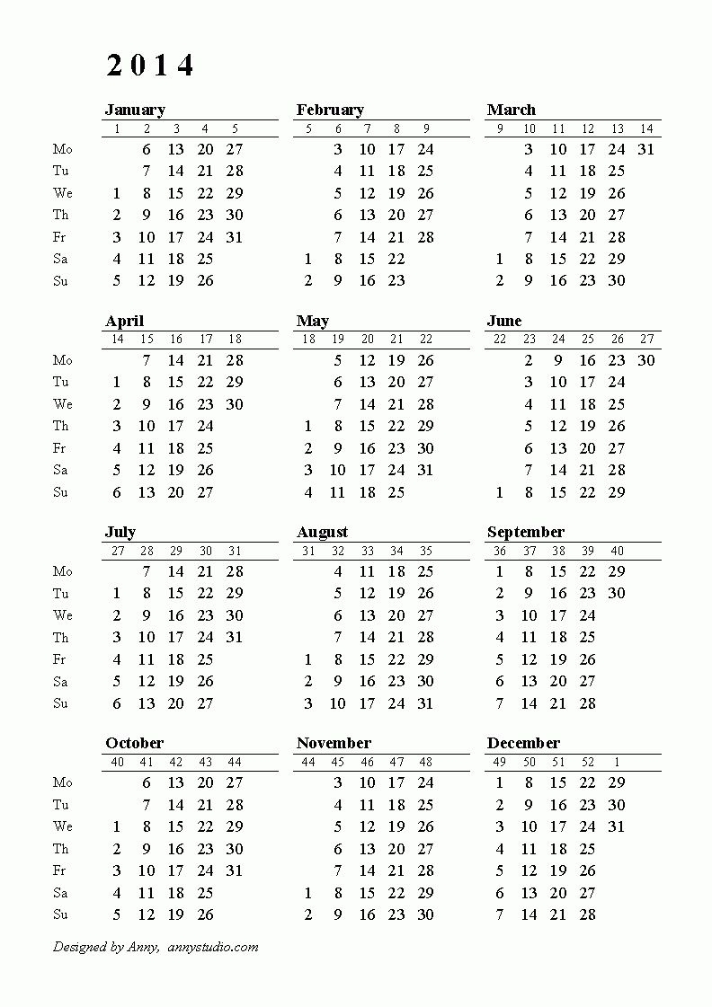 Pick Financial Year Week