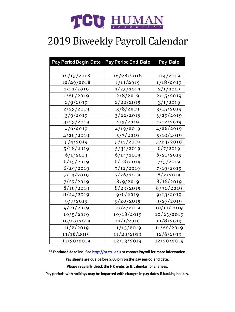 Pick Free Bi Weekly Calendar