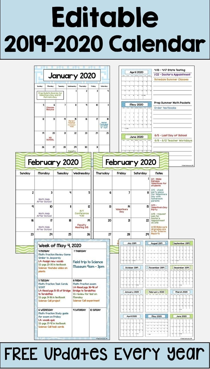 Pick Free Fillable Printable 5 Day Calendar 2021
