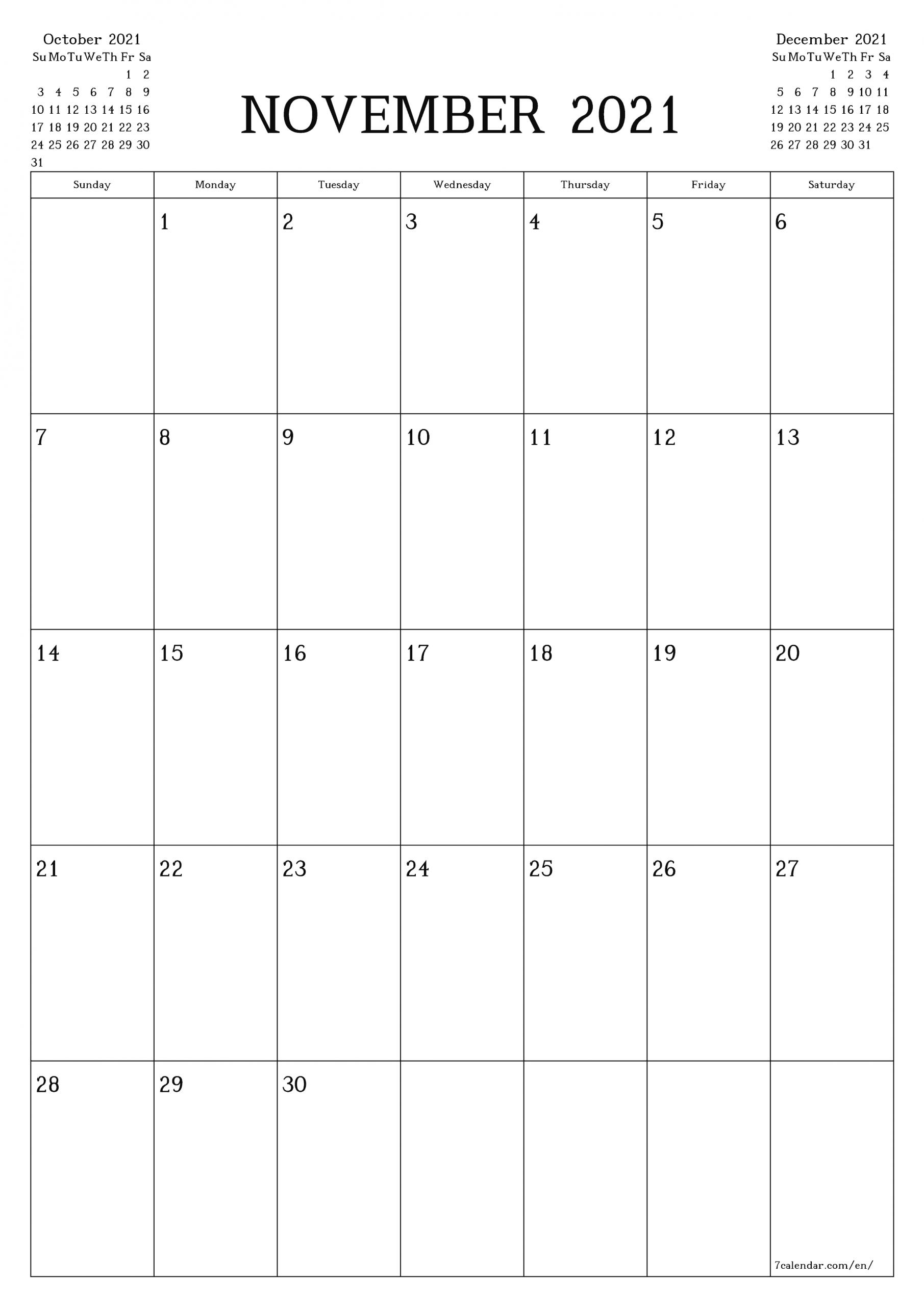 Pick Free Monthly Printable Calendar 2021