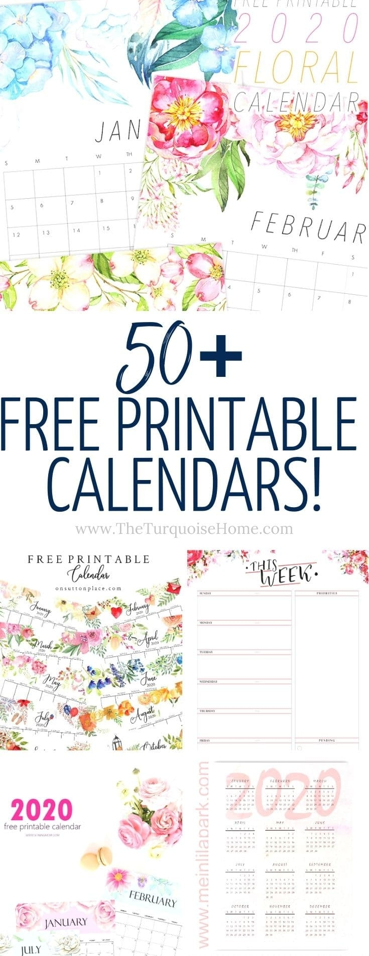 Pick Free Printable Calendar No Download Required