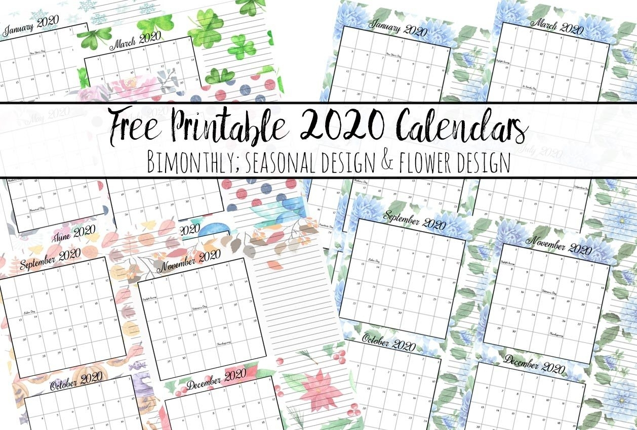 Pick Free Printable Holiday Calendars