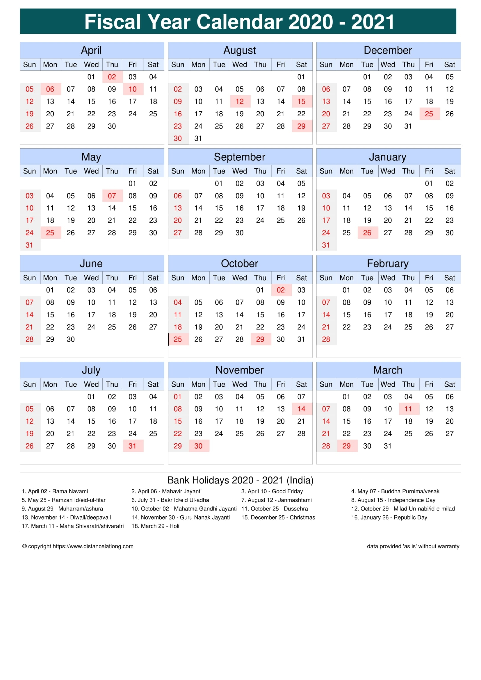 Pick Hindu Calendar With Holiday 2021