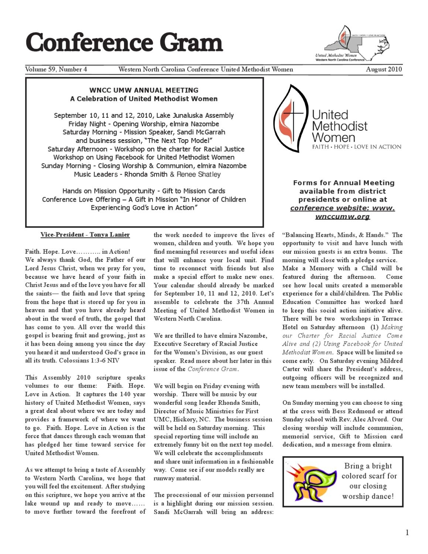 Pick How To Print August Prayer Callander For Umw