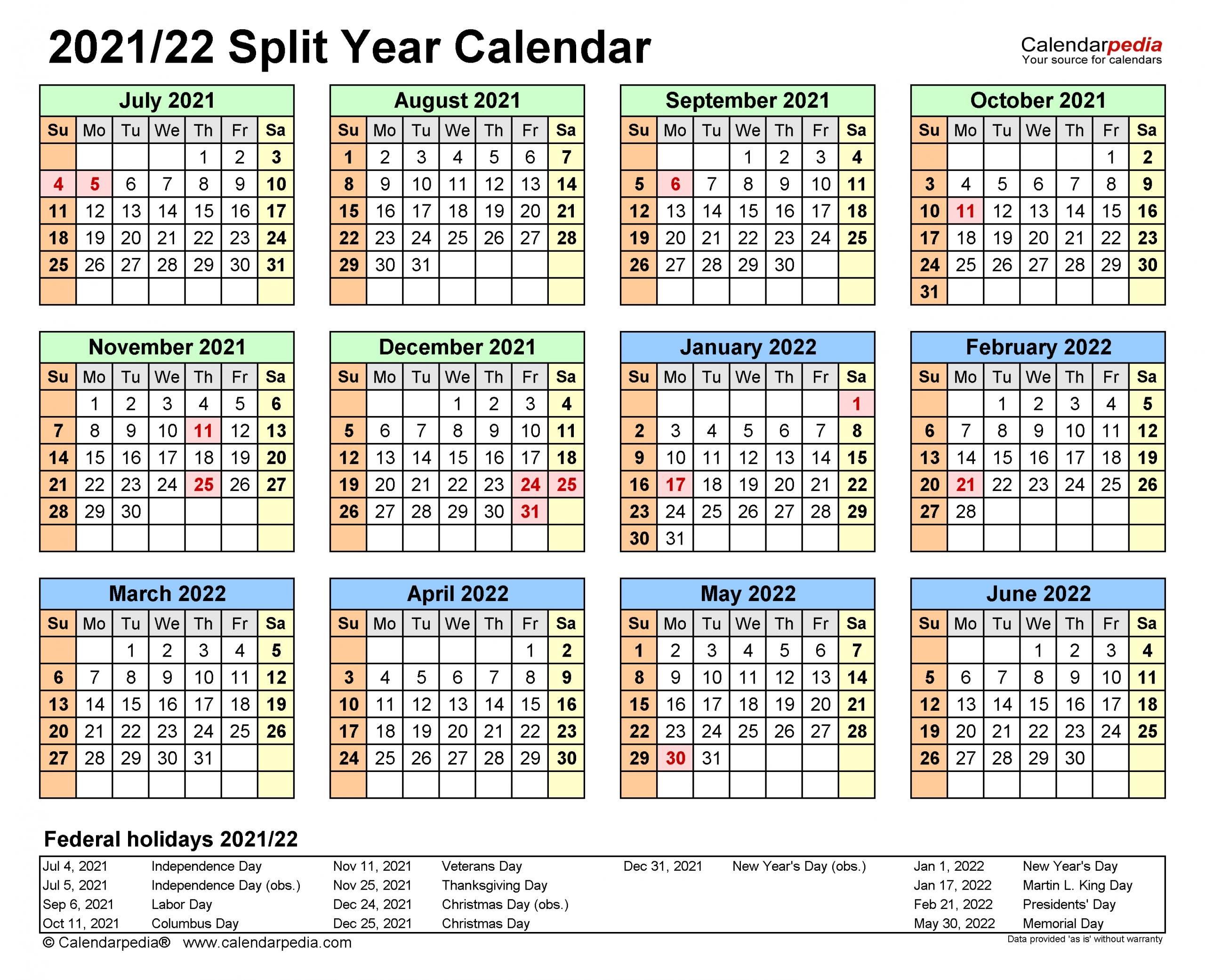 Pick July 22 To September 30 2021 Calendar