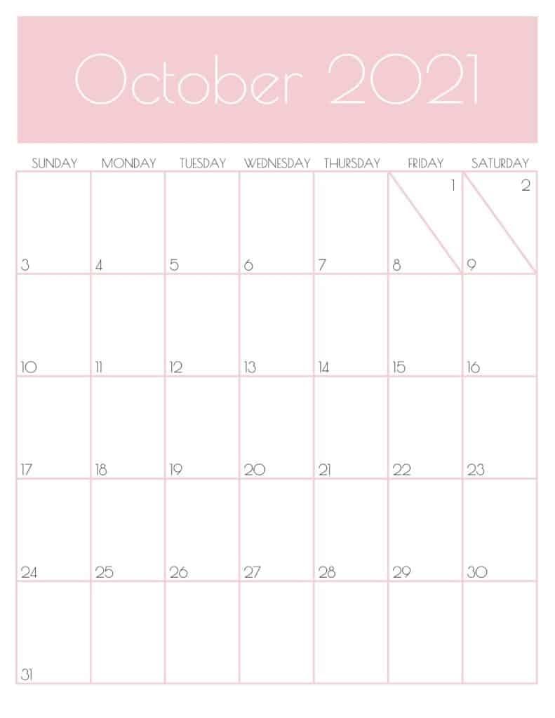 Pick Kalender 2021 Oktober November Desember