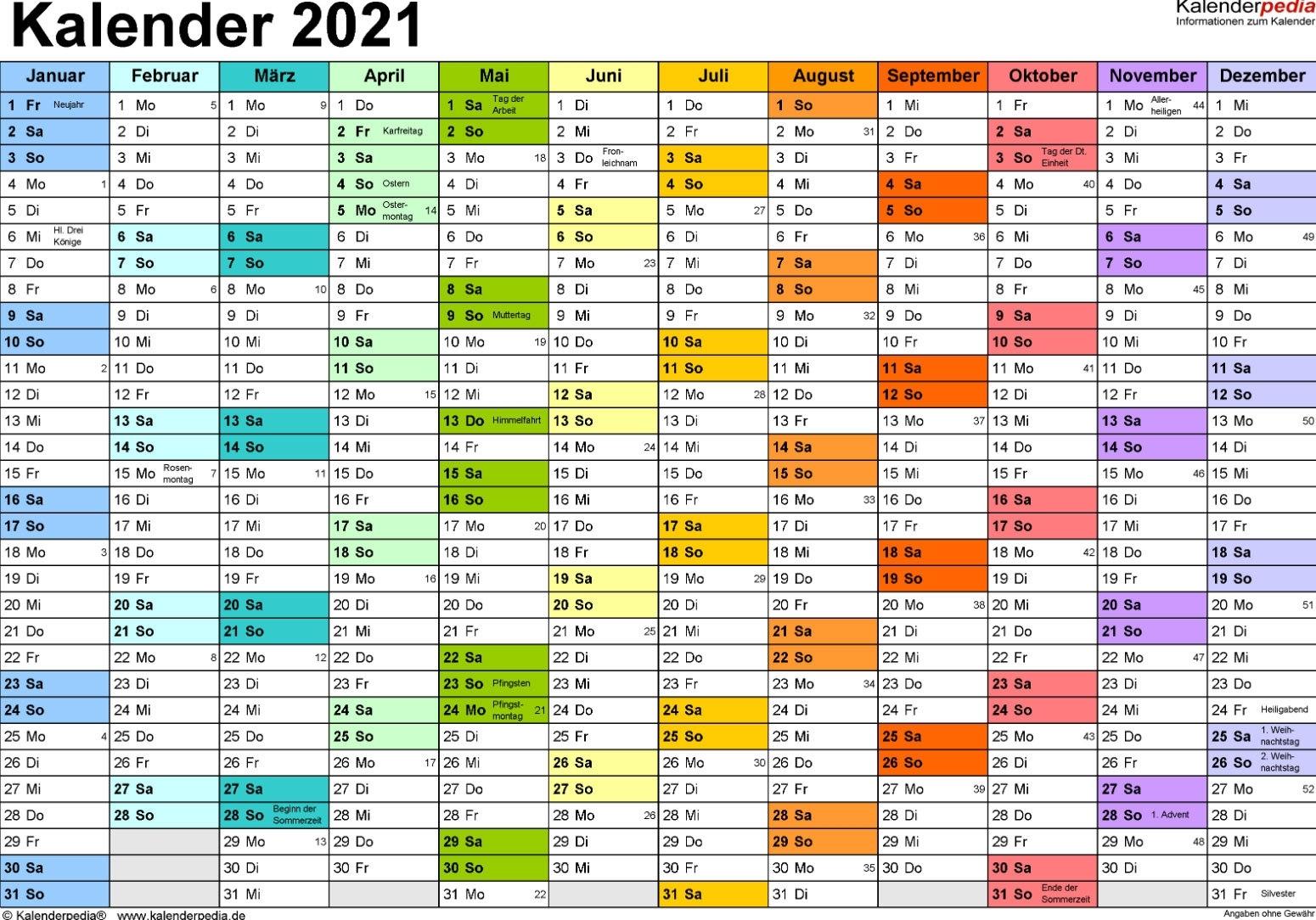 Pick Kalender 2021 Zum Ausdrucken