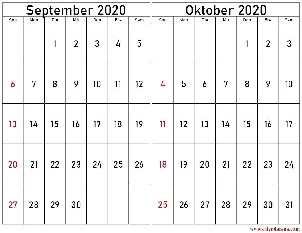 Pick Kalender September Oktober November Dezember 2021