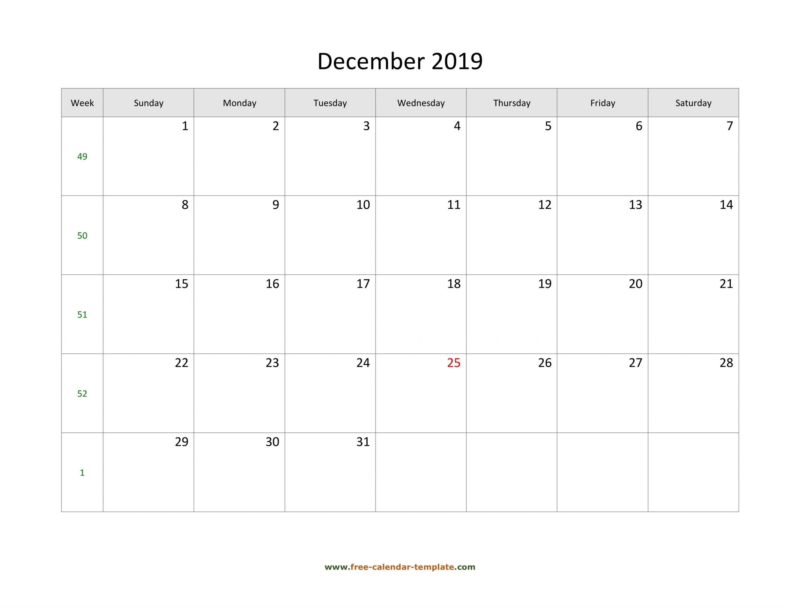 Pick Large Box For Calendar 2021