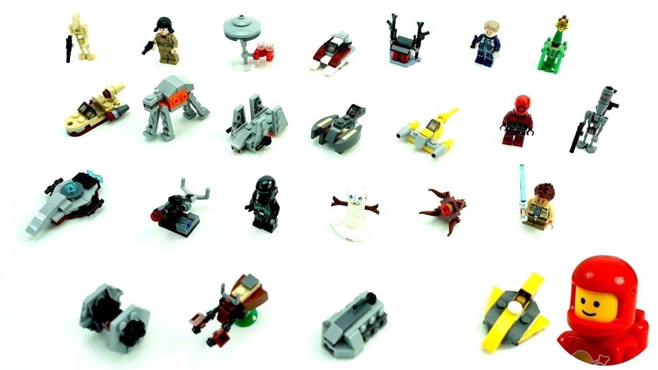 Pick Lego 6213564 Star Wars Tm Advent Calendar 75213 2018 Edition Minifigures Small Building Toys Christmas Countdown Calendar K