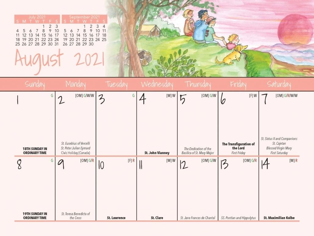 Pick Liturgical Calendar Umc 2021
