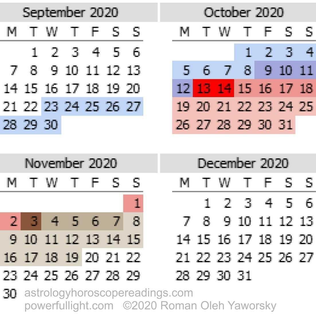 Pick Mercury In Retrograde 2021 Calendar