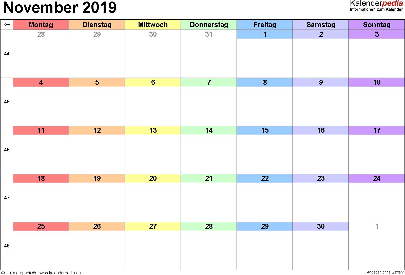 Pick Mmonats Kalender Ausdrucken