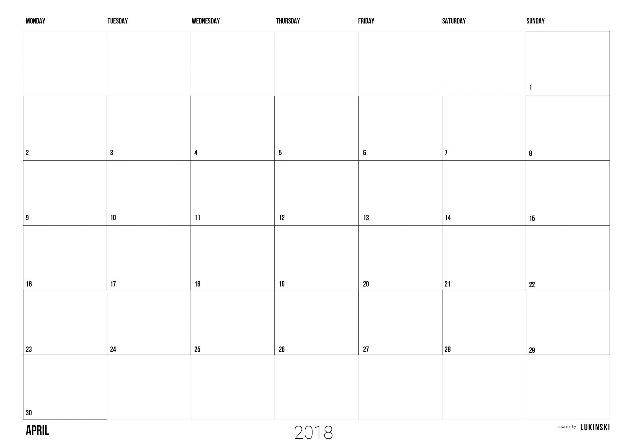 Pick Monatsplaner Zum Ausdrucken 209