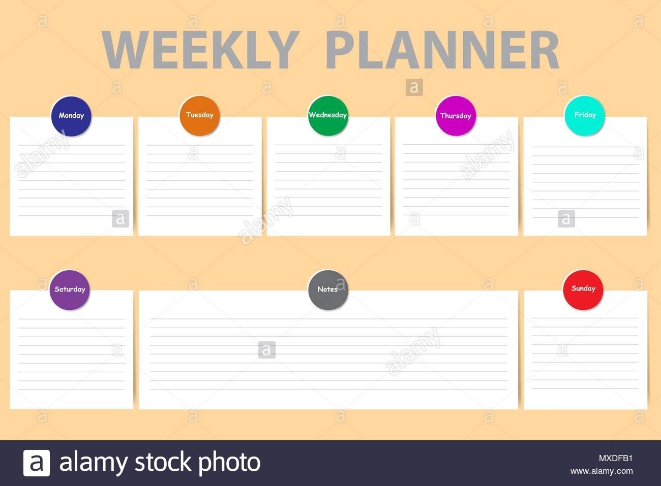 Pick Monday To Sunday Chart