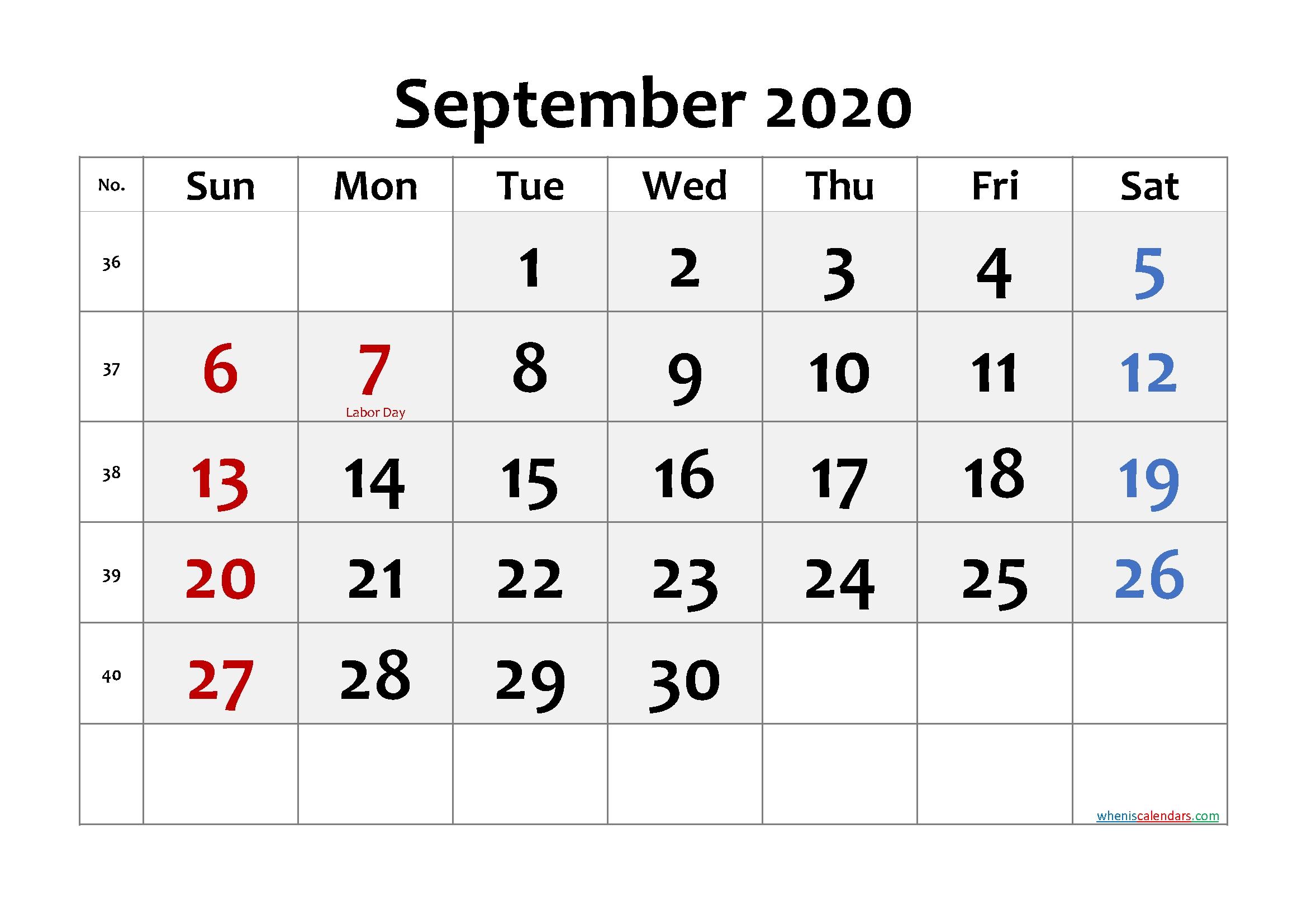 Pick No Download Free Printable Calendar