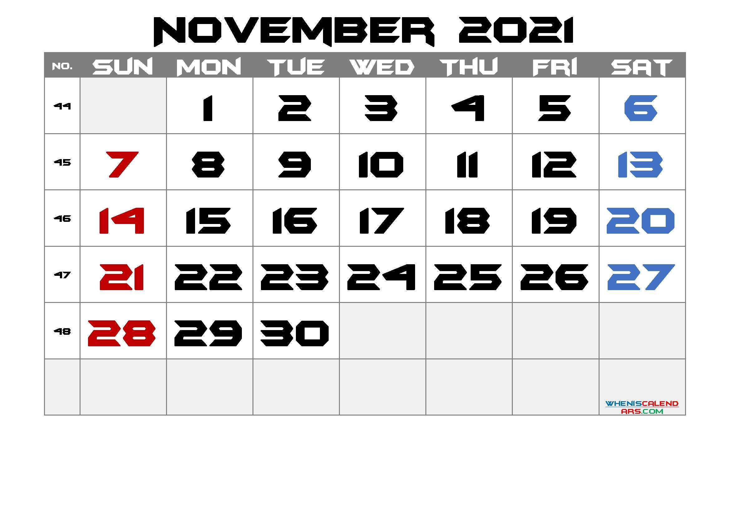 Pick November 2021 Caendar Printable Disney