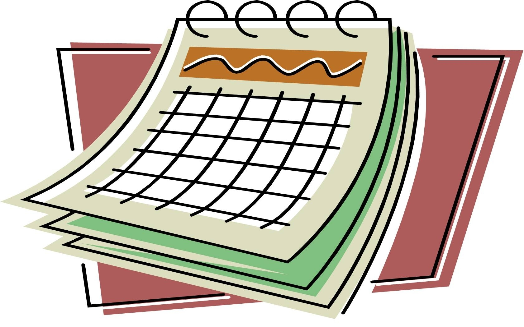 Pick November Calendar Clip Art
