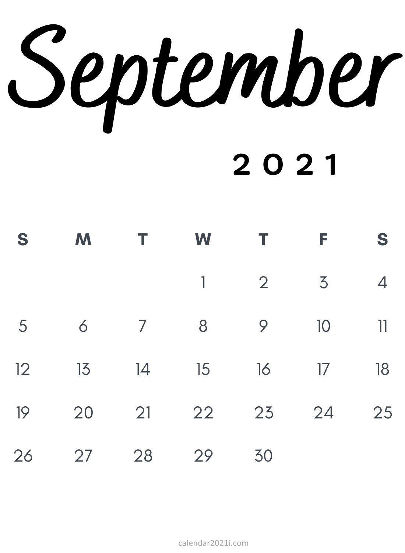 Pick Printable 4 Month Calendar Sept 2021