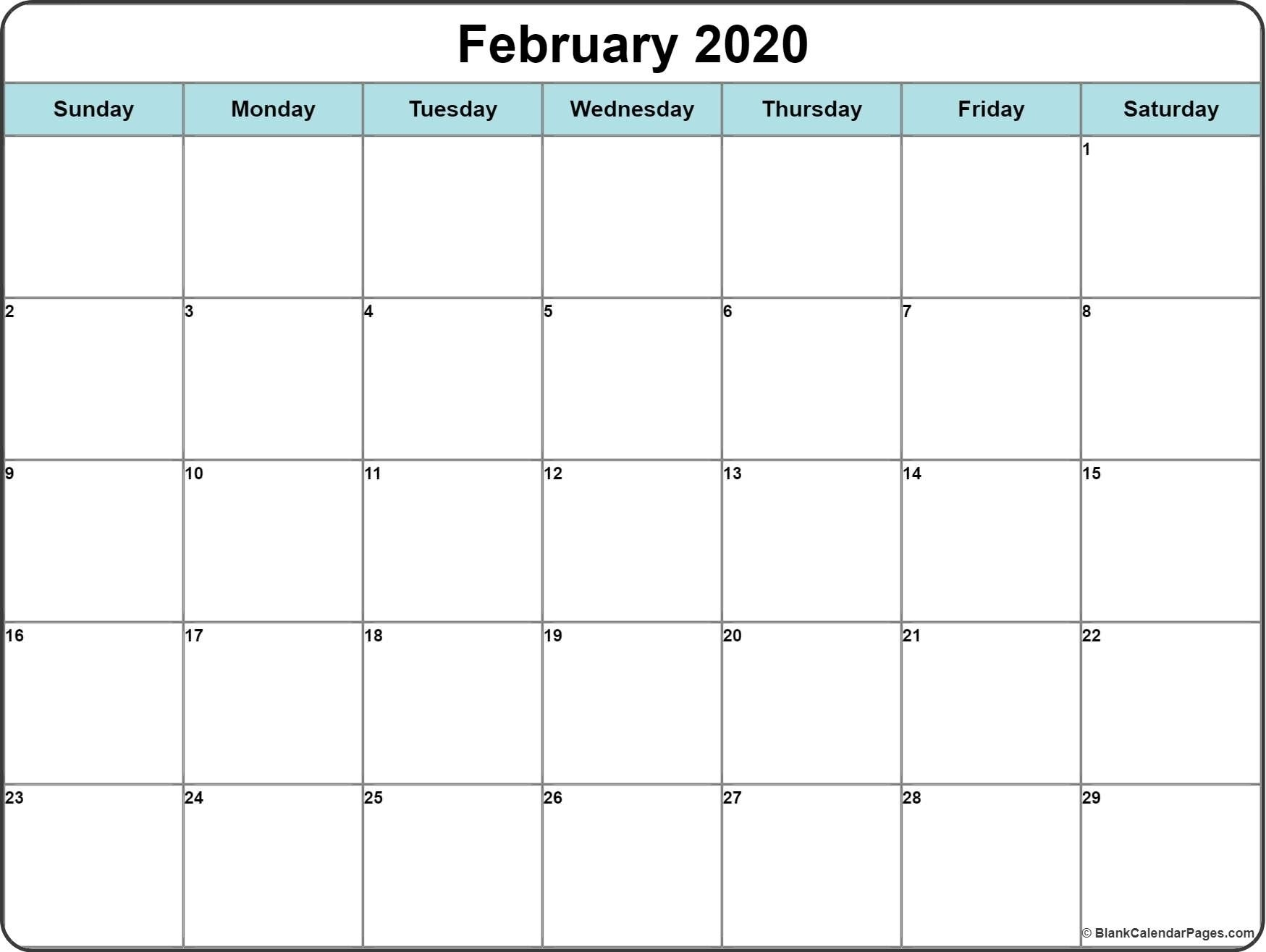Pick Printable Calendar With Writing Space