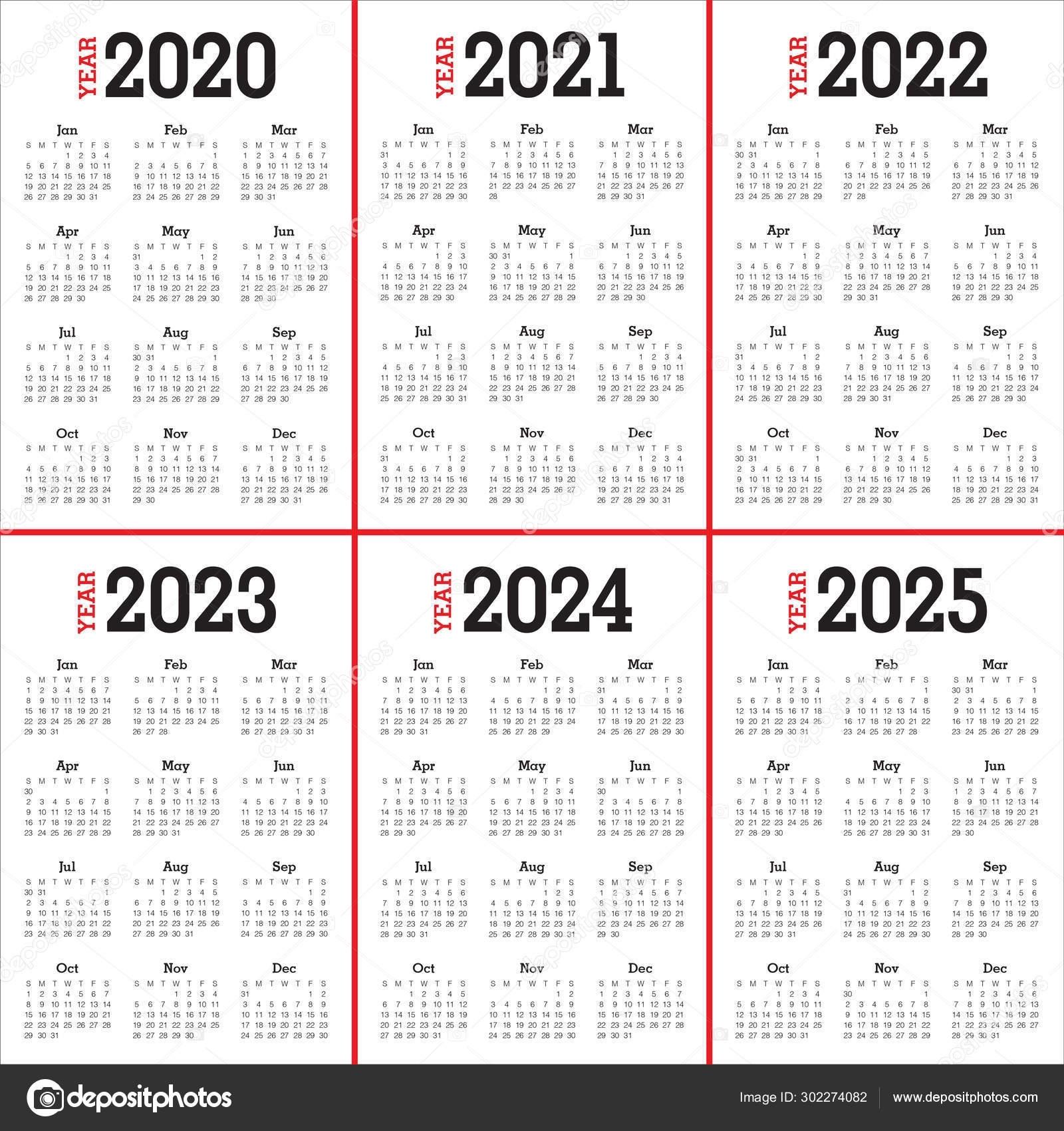 Pick Printable Calendars 2021 2022 2023 2024
