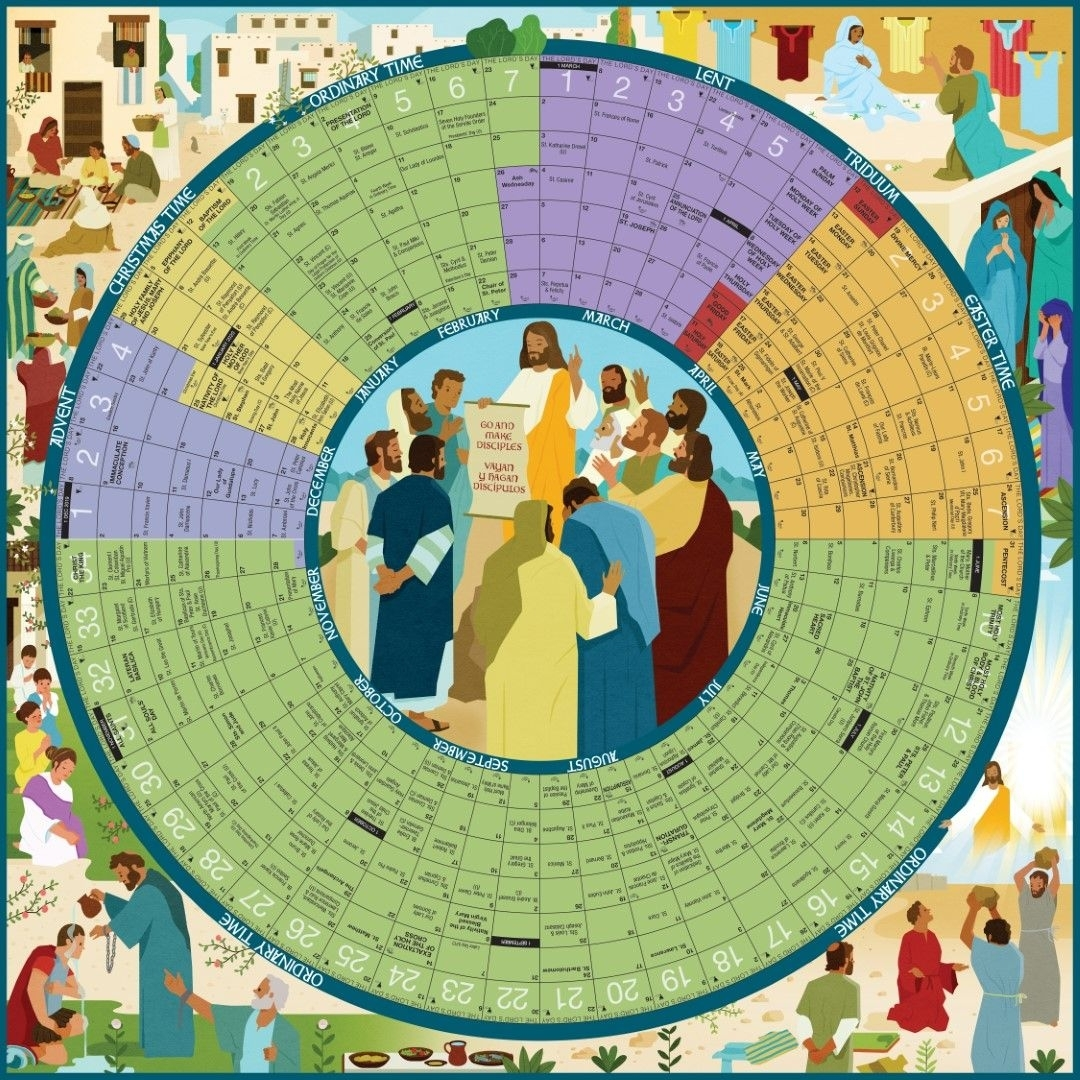 Pick Printable Liturgical Calendar 2021